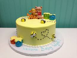 winnie the pooh baby shower cakes 17 best baby showers images on baby girl shower baby