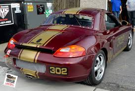 Porsche Boxster 1997 - gotshadeonline custom vehicle wraps tinting and paint protection