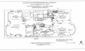 architectural plans 347 commonwealth remodeling 1912 back comm 347 second floor plan 1912 bpl blueprint bw