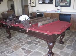 How To Move A Pool Table by Nfl Pool Table Felt