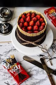 best 20 pocky cake ideas on pinterest green cake green tea kit the moonblush baker pulling at the heart strings triple choc mousse pocky