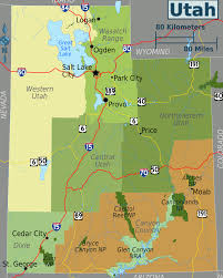 Utah State Parks Map by Utah U2013 Travel Guide At Wikivoyage