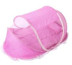 Baby Folding Bed Baby Baby Folding Bed Nipple With Sleeping Mat Pillow Mosquito Bed