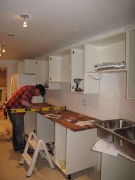 Diy Kitchen Cabinet Install How To Install Ikea Kitchen Cabinets Amazing Idea 10 Installing