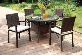 Patio Dining Table Set - furniture of america shania patio dining table set cm ot1853