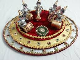 Plate Decoration For Engagement Wedding Decorations Chittara