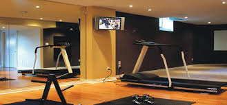 Wall Colors 2015 by Stylish Dark And Brown Basement Color Paint For Your Gym Room