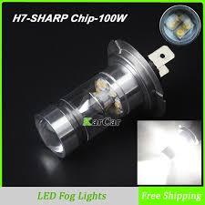 car led lights for sale sale high power 100w 850lm car led bulb h7 socket fog lights 12v