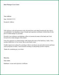 Bank Manager Sample Resume Blood Bank Manager Cover Letter