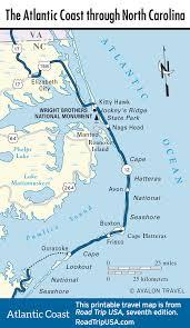 south carolina beaches map the atlantic coast route across carolina road trip usa