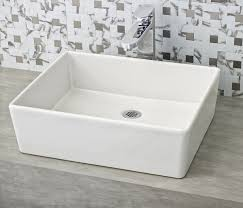 bathroom sink bathroom sink taps above vanity basins white