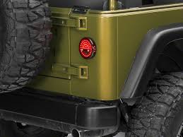 Led Lights For Jeeps Wrangler Litedots Led Tail Lights 87 06 Wrangler Yj U0026 Tj Free