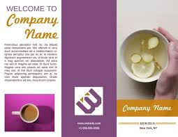 welcome brochure template free tri fold brochure templates exles 15 free templates