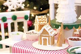 Gingerbread House Decoration Kara U0027s Party Ideas Gingerbread House Decorating Party Kara U0027s