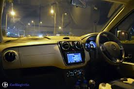 renault lodgy interior renault lodgy stepway test drive review interiors carblogindia