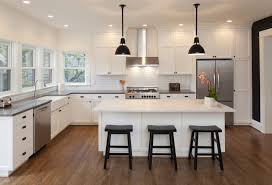 Kitchens With Light Cabinets Create Contrast With Light Colored Kitchen Cabinets