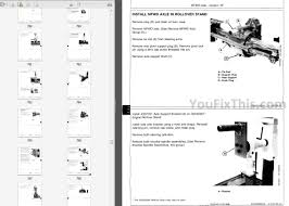 john deere 8000 8010 series repair manual tractor youfixthis