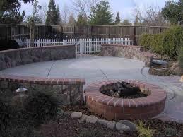 backyard landscaping ideas with fire pit fleagorcom