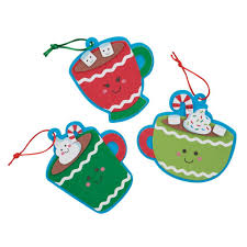 cute cocoa ornaments craft kit products