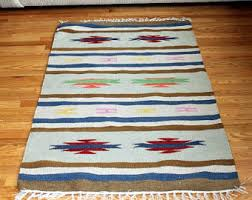 B And Q Rugs Native American Rug Etsy
