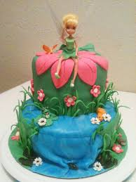 tinkerbell cakes tinkerbell cake with waterfall cakecentral