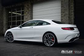 mercedes customized 2015 mercedes s550 coupe on 22in custom forgiato f2 19 wheels