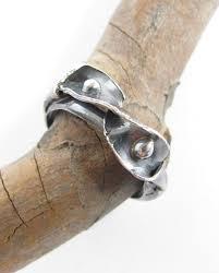 leaf ribbon antiqued sterling silver ribbon leaf ring size 10 75 elizabeth