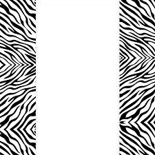 printable zebra stencil clipart library clip art library