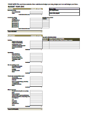 household budget template free download create edit fill and print
