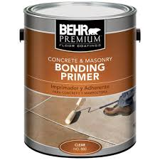 How To Paint A Cement Floor Basement Behr Premium 1 Gal Concrete And Masonry Bonding Primer 88001