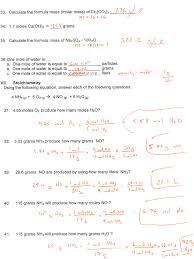 chemistry 3rd quarter exam review science