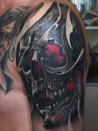 collection of 25 3d skull zipper on arm