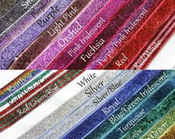 elastic ribbon by the yard glitter elastic etsy
