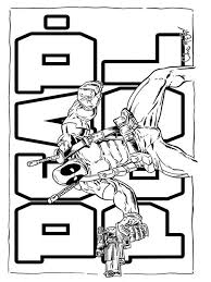 deadpool coloring pages download print deadpool coloring pages