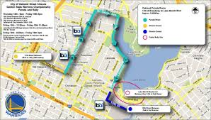 San Francisco Street Parking Map by Street Closures Begin Thursday Night Ahead Of Warriors Victory