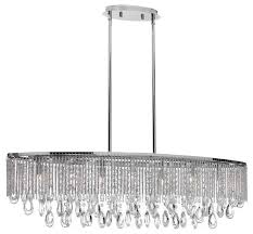Crystal Chandelier Canada Intermezzo Halogen Island Pendant With A Modern Clear Crystal