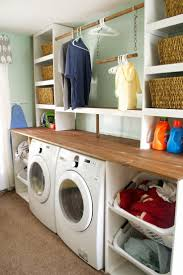 Decor For Laundry Room by Best 25 Laundry Room Shelving Ideas On Pinterest Laundry Room