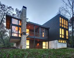 Contemporary Architecture A New Contemporary House In Wisconsin Is Covered In And