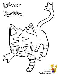 coloring pages pokemon sun and moon pokemon sun and moon coloring pages litten free coloring book