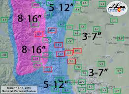 Snowfall Totals Map Storm Recap Snow Totals Are In Boulder Triples Up Denver