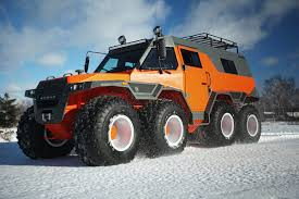 amphibious truck for sale shaman all terrain vehicle tires on low pressure of russian production