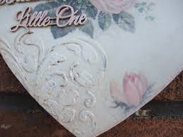 shabby chic wooden heart decorative wall plaque angel decor wooden