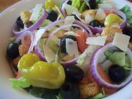 Garden Salad Ideas Olive Garden Salad Copycat Recipe Genius Kitchen