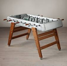 Restoration Hardware Tables Competition Foosball Table Restoration Hardware Rec Game