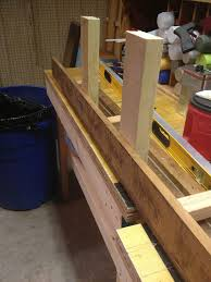 Wood Head And Footboards Making A Bench From Head U0026 Foot Boards Hometalk