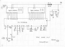 digital voltmeter ammeter circuit diagram circuit and schematics