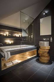 124 best modern rustic bathroom images on pinterest room