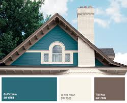 yellow exterior paint is cheery and delightful and making a