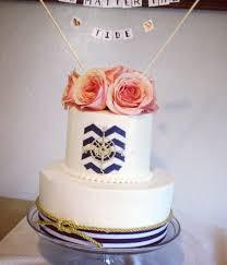 nautical themed wedding cakes top chevron cakes cakecentral