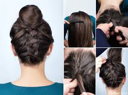hair buns images what guys think about hair buns glamvel